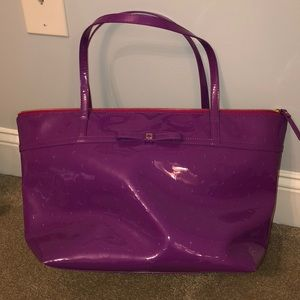 Purple Kate Spade Tote